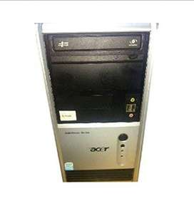 acer power series core to duo cpu