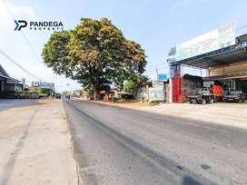 Tanah 870 m2 Bonus Gudang, Cocok Usaha, Showroom, Workshop, Investasi