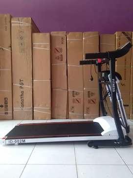 Gudangnya alat fitness /Treadmill Electric 2 fungsi baru