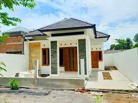 Rumah baru modern mangku jalan Sampakan Berbah dekat Kidsfun