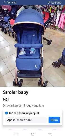 Stroller Cabin size kokoh kuat