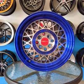 Pro Racing 15x7 H8 100 114.3 +35 untuk mobil BRIO ACCORD--