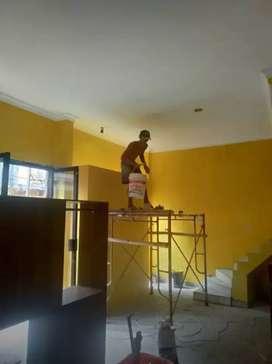 Tenaga profesional dalam pemasangan plafon gypsum