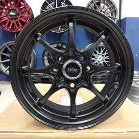 Ring 14 Velg Racing Mobil Avanza Livina Lobang 4x100 dan 4x114,3 HSR
