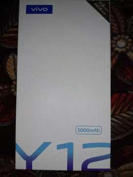 Y12  3 GB ram / 64 gm rom