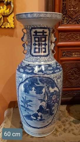 Keramik china tua double Happiness