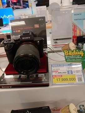 Sony Mirrorless Black Bisa Cicilan DP mulai dari 0%