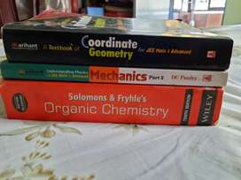 Set of 3 important books for JEE (PCM)