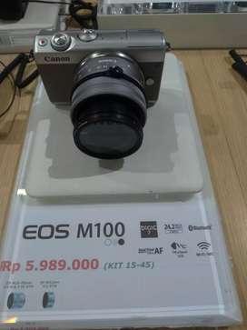 Canon EOS M100 KIT 15-45 Promo 0%