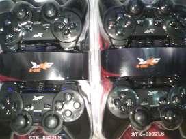 Gamepad Double Stick Harga Murah K-One STK8032LS Black Series