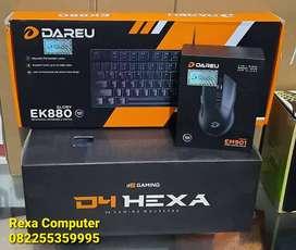 Mouse, Keyboard & Mousepad Gaming RGB