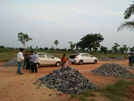 A residential plot @ Sale Near Amangal