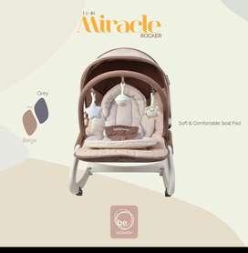 Bouncer BabyElle UC40 Activity Rocker Select beige colour