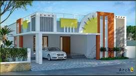 50 lakhs 2 Bhk villa sale in vadavalli