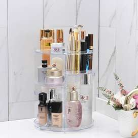 Cosmetics Storage Box Rotative Rack