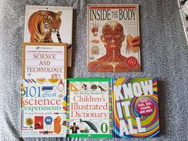Set of Dorling Kindersely Books in Excellent Condition