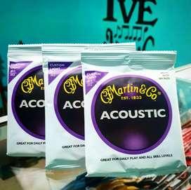 Senar gitar Martin & Go (Strings 0,11)