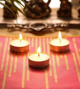 Festive 100 Tealight candles