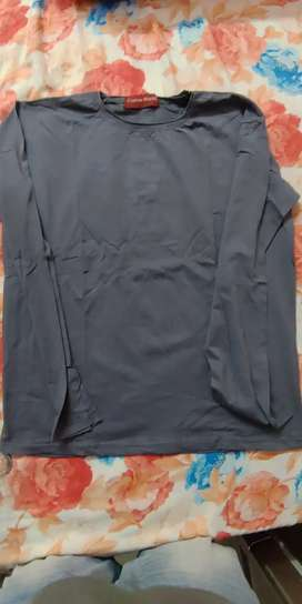 lycra full sleeve tshirt size is big giving in through away price 35rs
