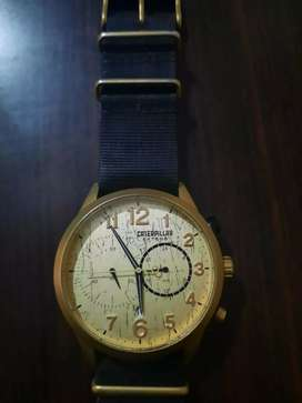 Used Watche Orignal Caterpillar Gold Plated For Sale