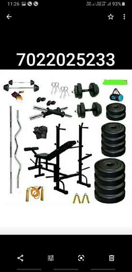 Cash on delivery no advance, 20kg,50kg,100kg set with bench available.