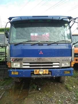 Mitsubishi Fuso FV 419 R Truck Crane Tahun 1999