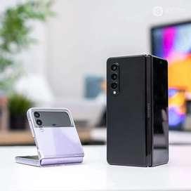 Ready Samsung Zflip 3 5G 8/128 GB Lavender (Ungu)