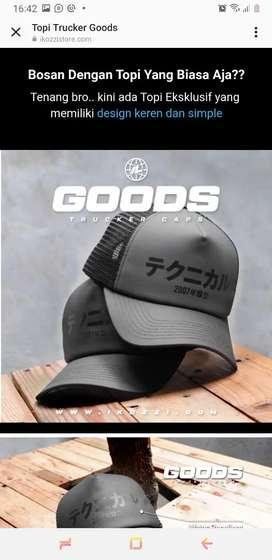 Topi Premium merk Trucker Goods