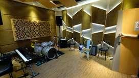 Jasa Peredam suara ruang akustik interior studio musik film karaoke