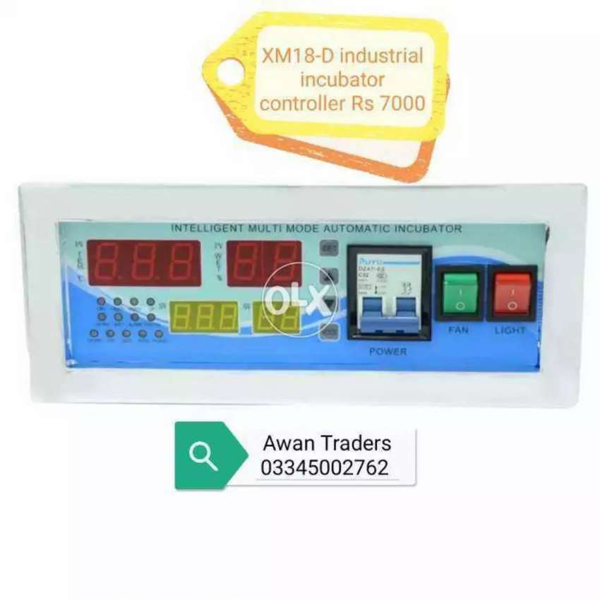XM18-D intelligent microprocessor controller's available 0