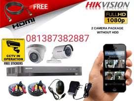 Pasang camera CCTV 2 megapixel full HD wilayah Jabotabek Tangerang