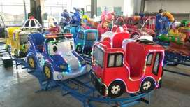 RST Dijual mainan eskavator beko keruk odong odong kereta wisata IIW