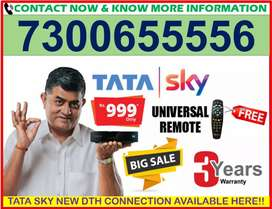 GET TATA SKY NEW BOX DISH TATASKY 6 MONTH FREE & FIRE STICK TV AIRTE