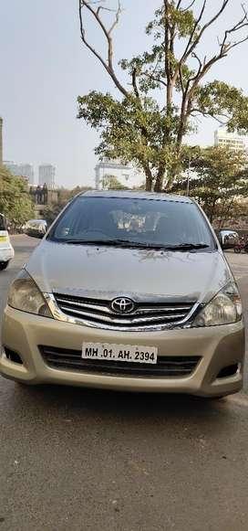 Toyota Innova 2.5 G 8 STR BS-III, 2008, Diesel