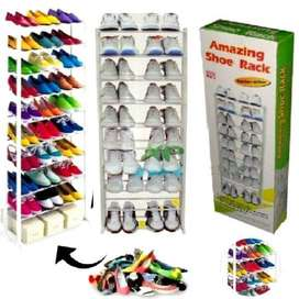 Amazing 30 Pair Shoe Racks