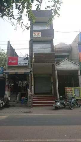 Shop for sale 3 floors  urgent government college chounk in hoshiarpur