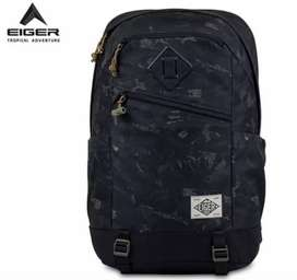 Eiger Authentic Tas Ransel 25L + Rain Cover