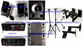 new paket sound system + sub harga 6,5 juta sett