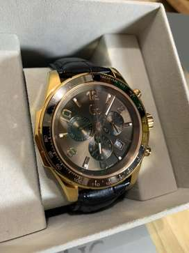 SECOND MULUS 99% GC GUESS COLLECTION WATCH x51001g1s Jam Tangan