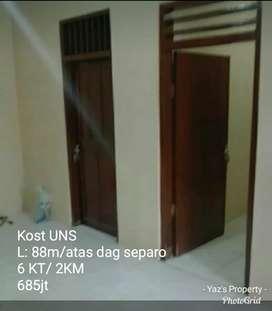 Dijual Kost UNS 88m, dag, 6KT