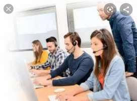 Simple Calling work and Data entry work in Office freshers also
