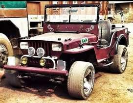 New stylish modified jeep