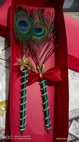 Decorated pen for nikkah