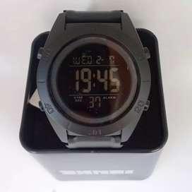 SKMEI 1591 Black ORIGINAL waterresist jam tangan malang free cod