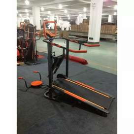 Treadmil manual 6 fungsi Stock terbatas