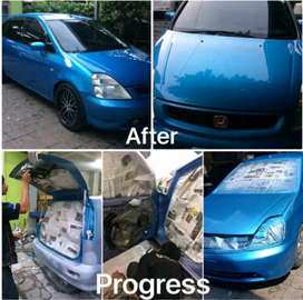 Bengkel cat mobil Body Repair QAG