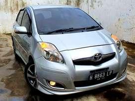 DP19jt Yaris S Limited Matic 2010 Silver Istimewa
