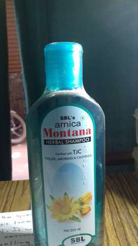 Arnica montana herbal shampoo