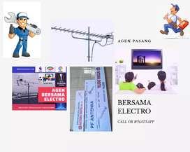 Pusat specialist pasang signal antena tv murah