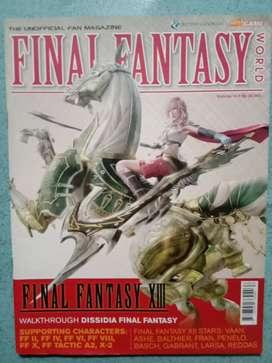 Jual majalah hotgame spesial Final Fantasy World vol. 10